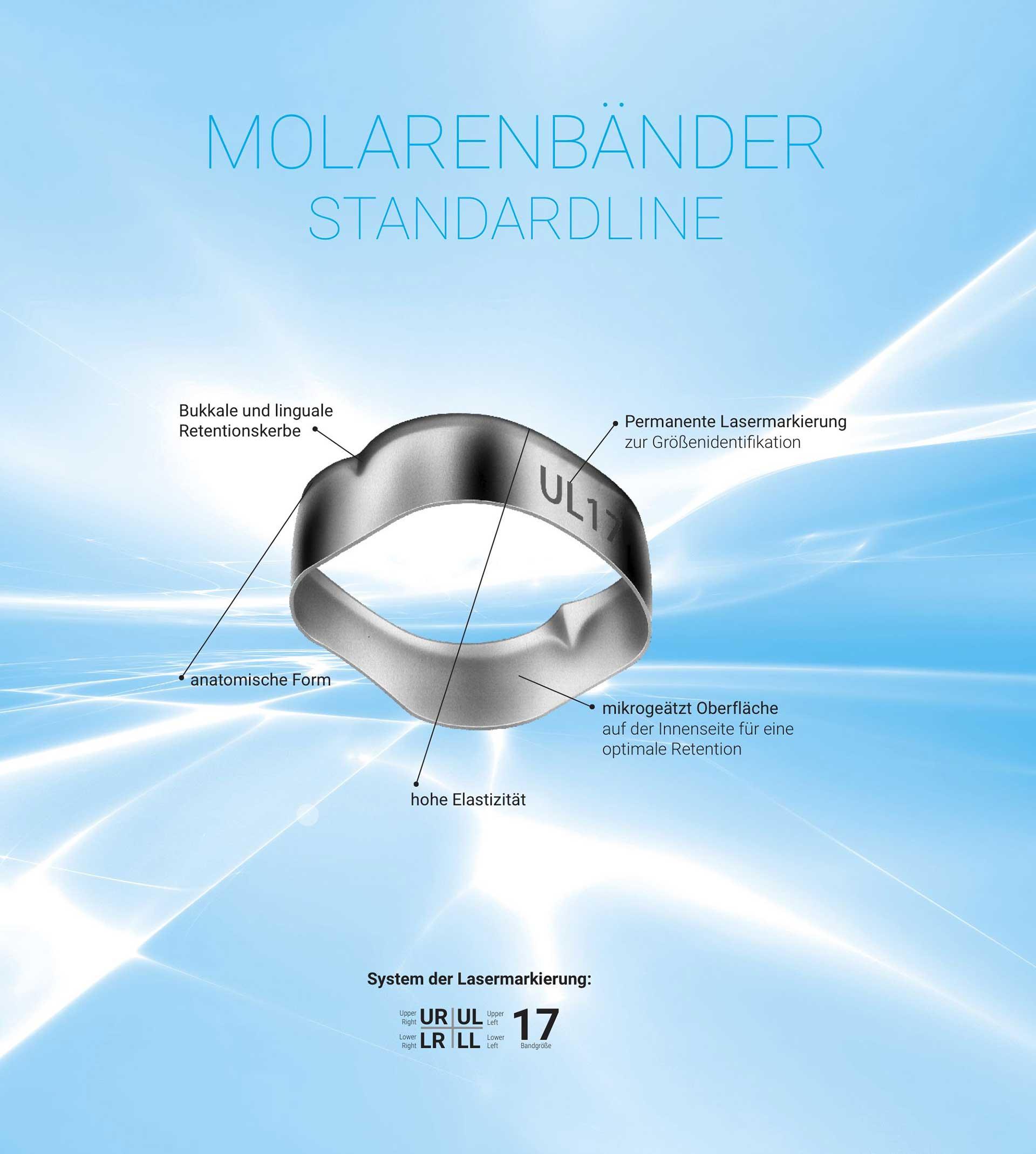Molarenbänder standardLine